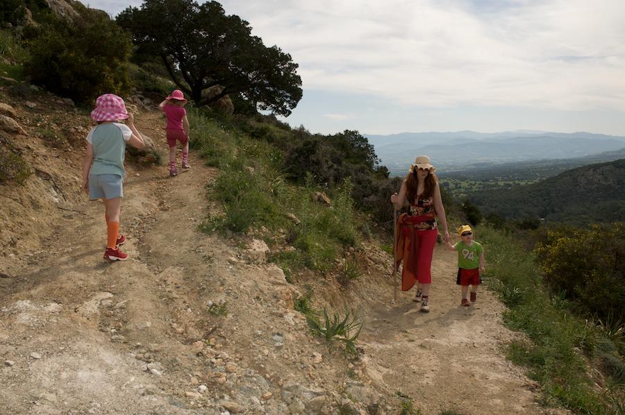 Kävelyllä vuoristossa
